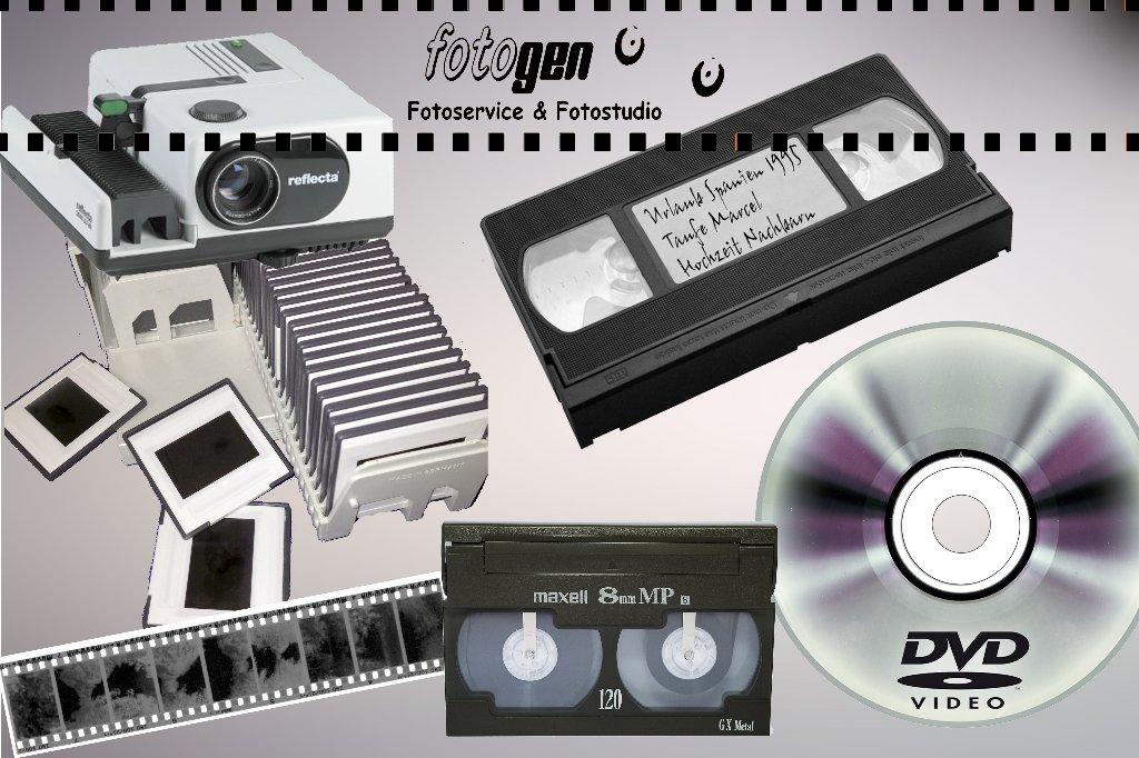 Alte Videos und Dia´s auf DVD