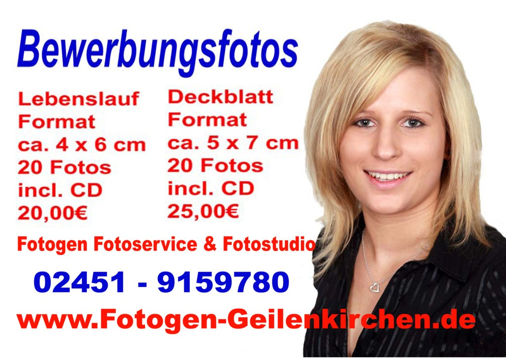 Bewerbungsfotos